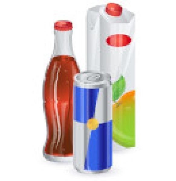 Соки, вода и напитки