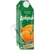 Нектар апельсин, Добрый, 1л (тетра-пак)