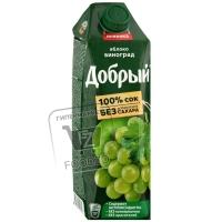 Сок яблоко-виноград, Добрый, 1л (тетра-пак)