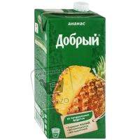 Нектар ананас, Добрый, 2л (тетра-пак)