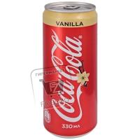 Напиток газированный vanilla, Coca-Cola, 330мл (ж/б с ключом)