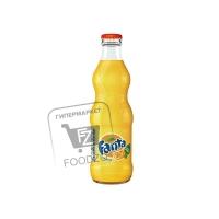 Напиток газированный апельсин, Fanta, 330мл (стеклянная бутылка)