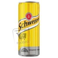 Напиток газированный индиан тоник, Schweppes, 330мл (ж/б с ключом)