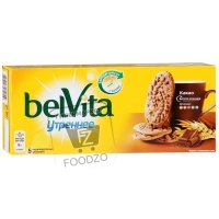 Печенье утреннее с какао, BelVita, 225г (картонная коробка)