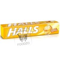 Леденцы мед и лимон, Halls, 25г (фольга)