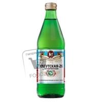 Вода минеральная газированная, Нагутская-26, 500мл (стеклянная бутылка)