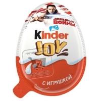 Яйцо шоколадное с игрушкой joy, Kinder, 20г (пластиковая упаковка)