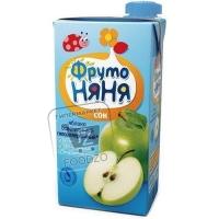 Сок осветленный яблоко, ФрутоНяня, 500мл (тетра-пак)