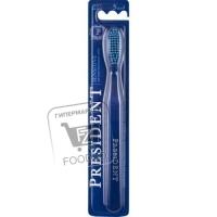 Зубная щетка мягкая для чувствительных зубов, President, 1шт (блистер)