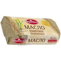 Масло сливочное традиционное 82,5%, Вкуснотеево, 400г (бумажная упаковка)