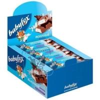 Шоколад молочный с молочной начинкой, Babyfox, 47г (фольга)