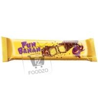 Вафля с банановой прослойкой, Fun Banan, 35г (флоу-пак)