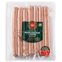 Колбаски с сыром марсельские, Дружба народов, 350г (вакуумная упаковка)