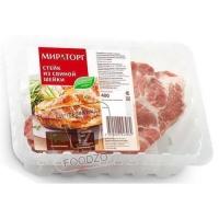 Стейк из свиной шейки, Мираторг, 400г (лоток)
