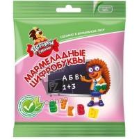 Мармелад детский мармеладные цифробуквы, Детский сувенир, 70г (флоу-пак)