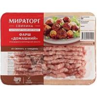Фарш свино-говяжий домашний, Мираторг, 500г (лоток)