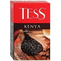 Чай черный гранулированный kenya, Tess, 100г (картонная коробка)