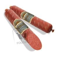 Колбаса варено-копченая сервелат, Скворцово, ~250г (вакуумная упаковка)