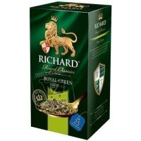 Чай зеленый роял грин, Richard, 25пакетиков (картонная коробка)