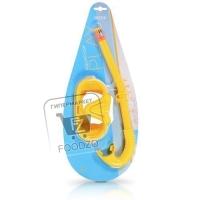 Набор для плавания маска и трубка, Intex, 1шт (блистер)