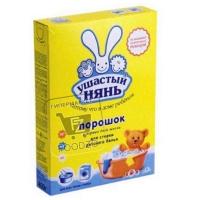 Порошок стиральный для всех видов стирки, Ушастый нянь, 400г (картонная упаковка)