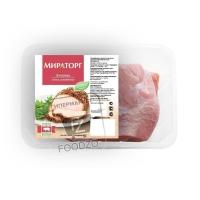 Лопатка свиная охлажденная, Мираторг, 800г (вакуумная упаковка)