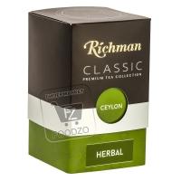 Чайный напиток травяной herbal цейлон, Richman, 100г (картонная упаковка)
