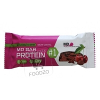 Батончик протеиновый вишня-шоколад, Ironman, 50г (флоу-пак)