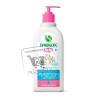 Средство для мытья детской посуды, овощей и фруктов, Synergetic, 500мл (пластиковая бутылка)