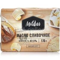 Масло сливочное 82,5%, Милдар, 170г (фольга)