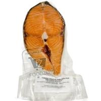 Стейк семги свежемороженый, ИП Кореньков, ~600г (вакуумная упаковка)