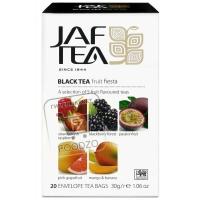 Чай черный 5 видов фрут фиеста, JAF TEA, 20пакетиков (картонная коробка)
