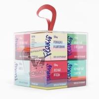 Чай набор в кубе, Floris, 8видов (пластиковая упаковка)