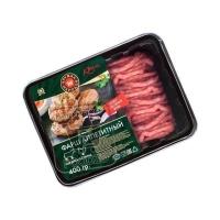 Фарш говяже-куриный аппетитный охлажденный, Дружба народов, ~400г (лоток)
