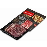 Бекон из мраморной говядины охлажденный black angus, Мираторг, 190г (вакуумная упаковка)