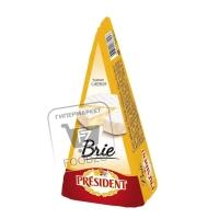 Сыр мягкий brie 60%, President, 200г (пленка)