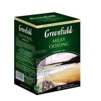 Чай молочный улун в пирамидках, Greenfield, 20пакетиков (картонная упаковка)