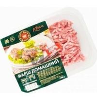 Фарш свино-говяжий домашний, Дружба народов, 400г (лоток)