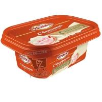 Сыр плавленый с ветчиной 45%, President, 400г (пластиковая упаковка)