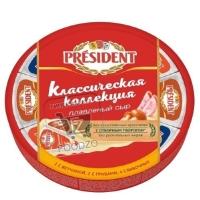 Сыр плавленый классическая коллекция 20%, President, 140г (фольга)