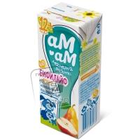 Биопродукт кисломолочный с грушей бифилайф 2,5%, Черноморский молокозавод, 210г (тетра-пак)