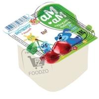 Биотворог с вишней для питания детей с 6 месяцев 4,2%, Черноморский молокозавод, 100г (стакан)