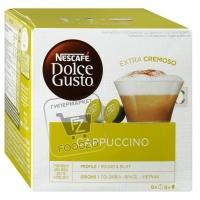 Капсулы для кофемашины cappuccino, Dolce Gusto, 8шт (картонная упаковка)