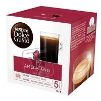 Капсулы для кофемашины americano, Dolce Gusto, 8г (картонная упаковка)