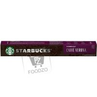 Капсулы для кофемашины caffe verona, Starbucks, 5,5г (картонная упаковка)