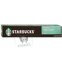 Капсулы для кофемашины pike place roast lungo, Starbucks, 5,5г (картонная упаковка)