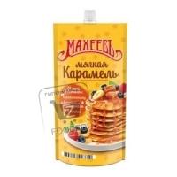 Топпинг мягкая карамель со сгущенным молоком, Махеевъ, ~300г (дой-пак)