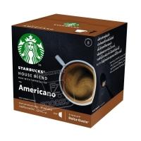 Капсулы для кофемашины americano starbucks, Dolce Gusto, 8,5г (картонная упаковка)