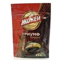 Кофе растворимый триумф, Жокей, 75г (zip-пакет)