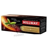 Чай черный, HILLWAY, 25пакетиков (картонная упаковка)